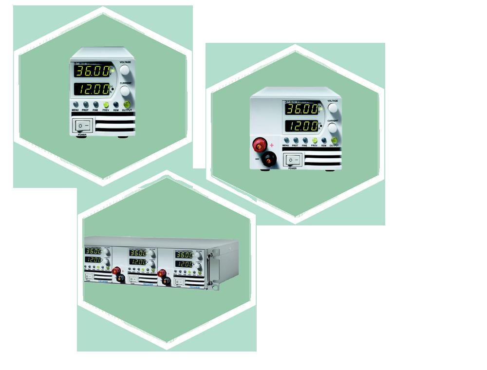 Z+ programmierbare DC-Quelle
