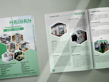 Der neue HEIDEN Katalog