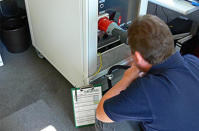 Prüffeld HEIDEN power GmbH
